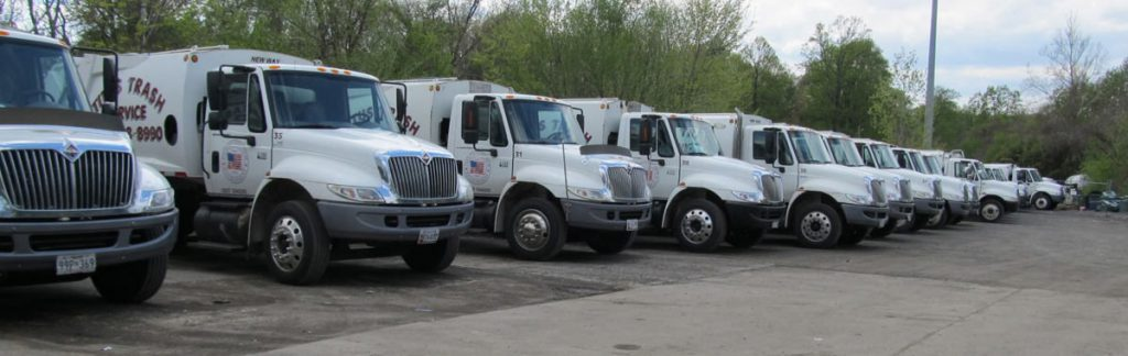 Titus Trash Trucks for Pickup & Removal in Potomac MD Areas